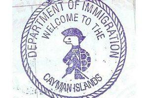 Cayman Inseln Pass