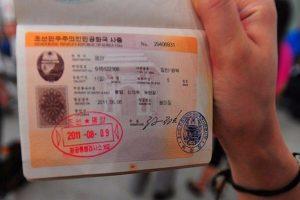 Nordkorea Pass