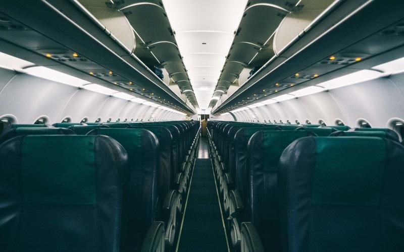 Flugzeug: Schmutzigste Stellen