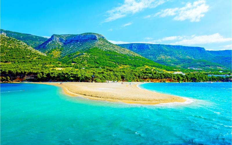 Insel Brac Kroatien