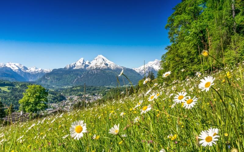 Österreich: Wunderschöner Frühling