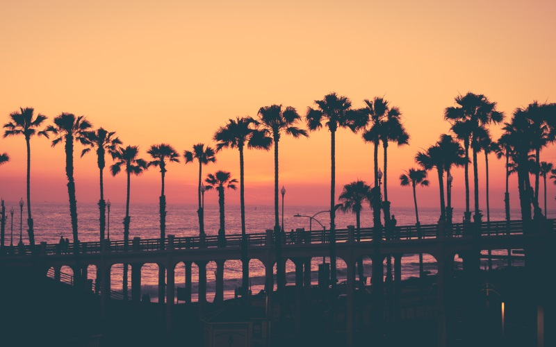 Strände in Kalifornien