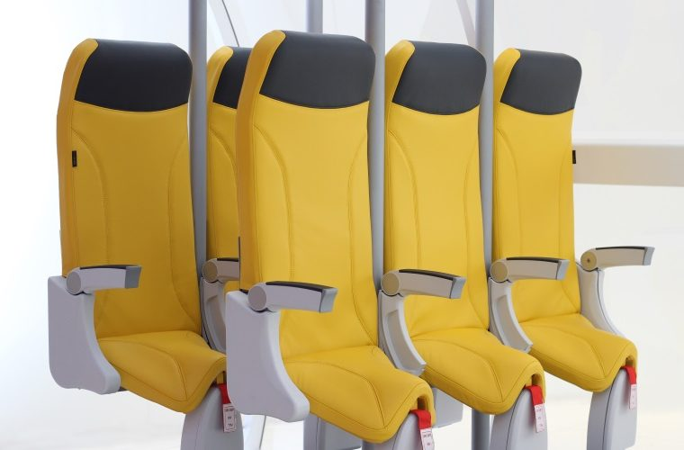 Stehplätze im Flugzeug