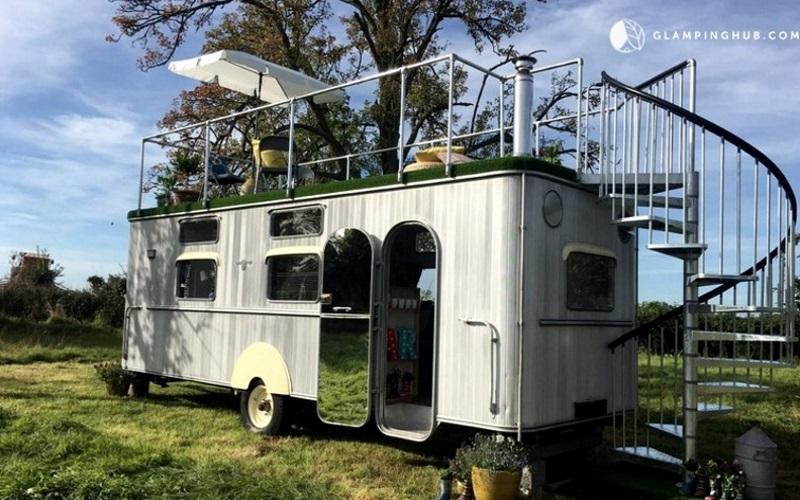 Wohnwagen in England