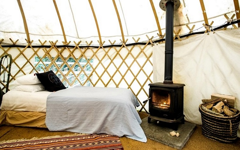 Glamping in Irland