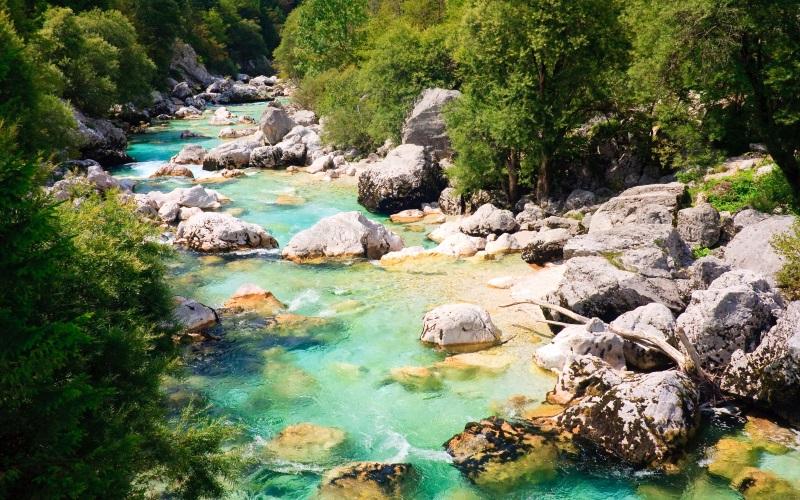 Wirklich schöne Orte in Slowenien