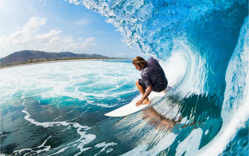 Perfekte Wellen in Europa