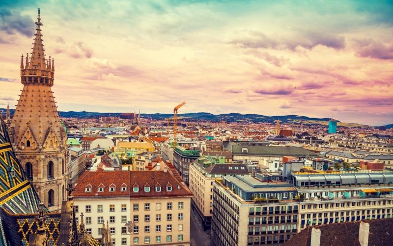 Wien im Sommer