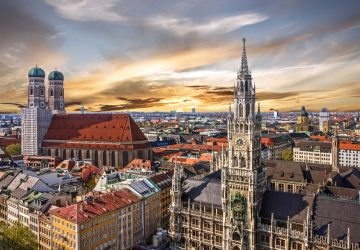 München: Stadt und Wandern