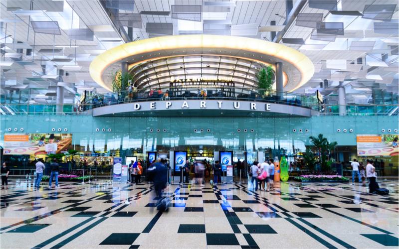Wartezeit auf Flughäfen