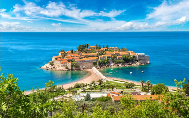 Insel in der Adria