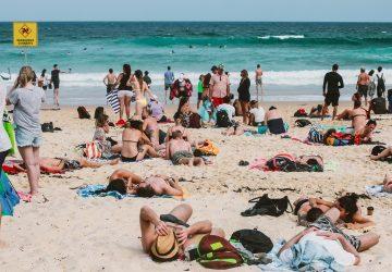 Strand: nervige Leute