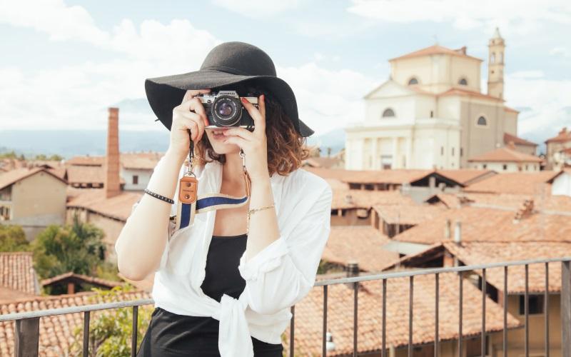 Tourist undercover