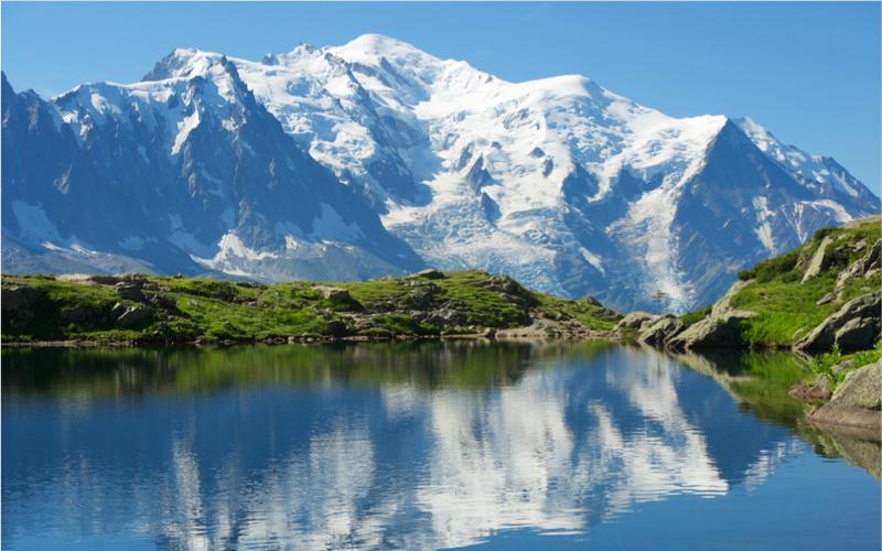 Berggipfel in Europa
