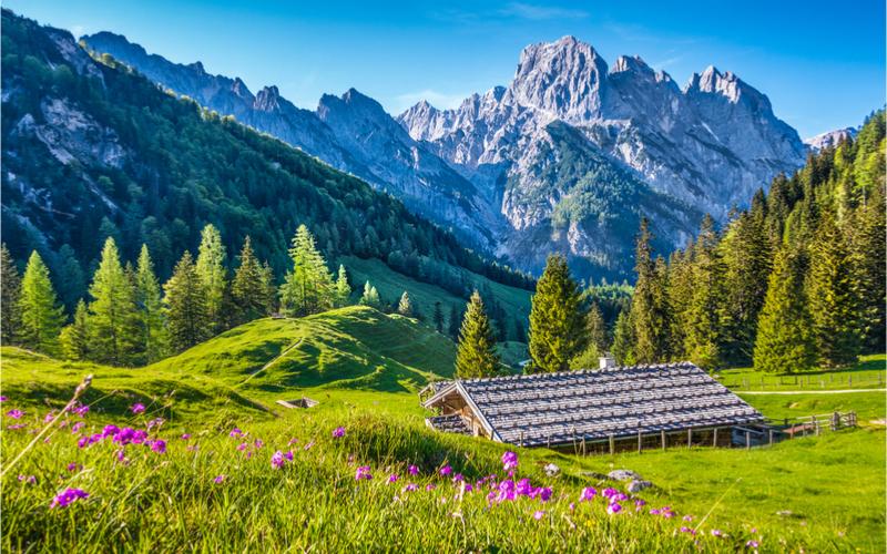 Hüttenwanderwege in Österreich