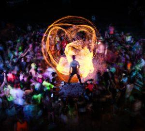 Party in Südostasien