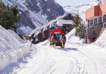 Österreich Pferdeschlittenfahrten