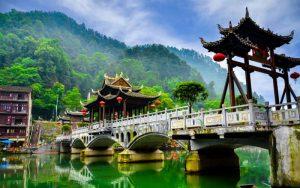 China antike Städte