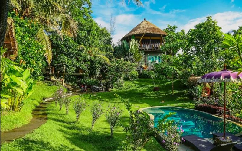 Balinesische Gartenoase
