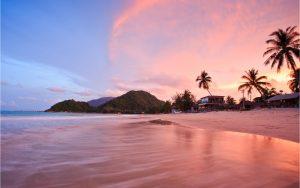 thailändischer Urlaubsort Khanom