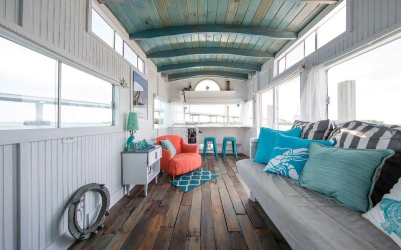 Hausboot in Charleston