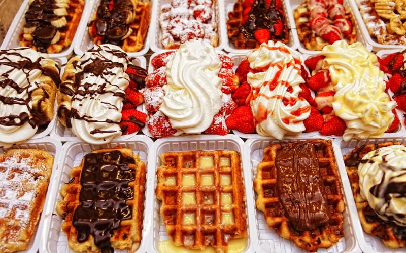 Desserts Belgien