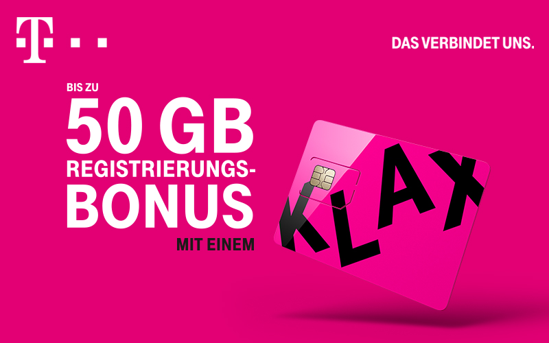 T-Mobile Registrierung
